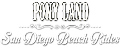 Pony Land San Diego Beach Horseback Riding