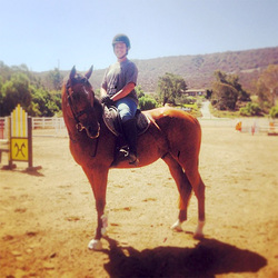 Horseback riding lessons San Diego